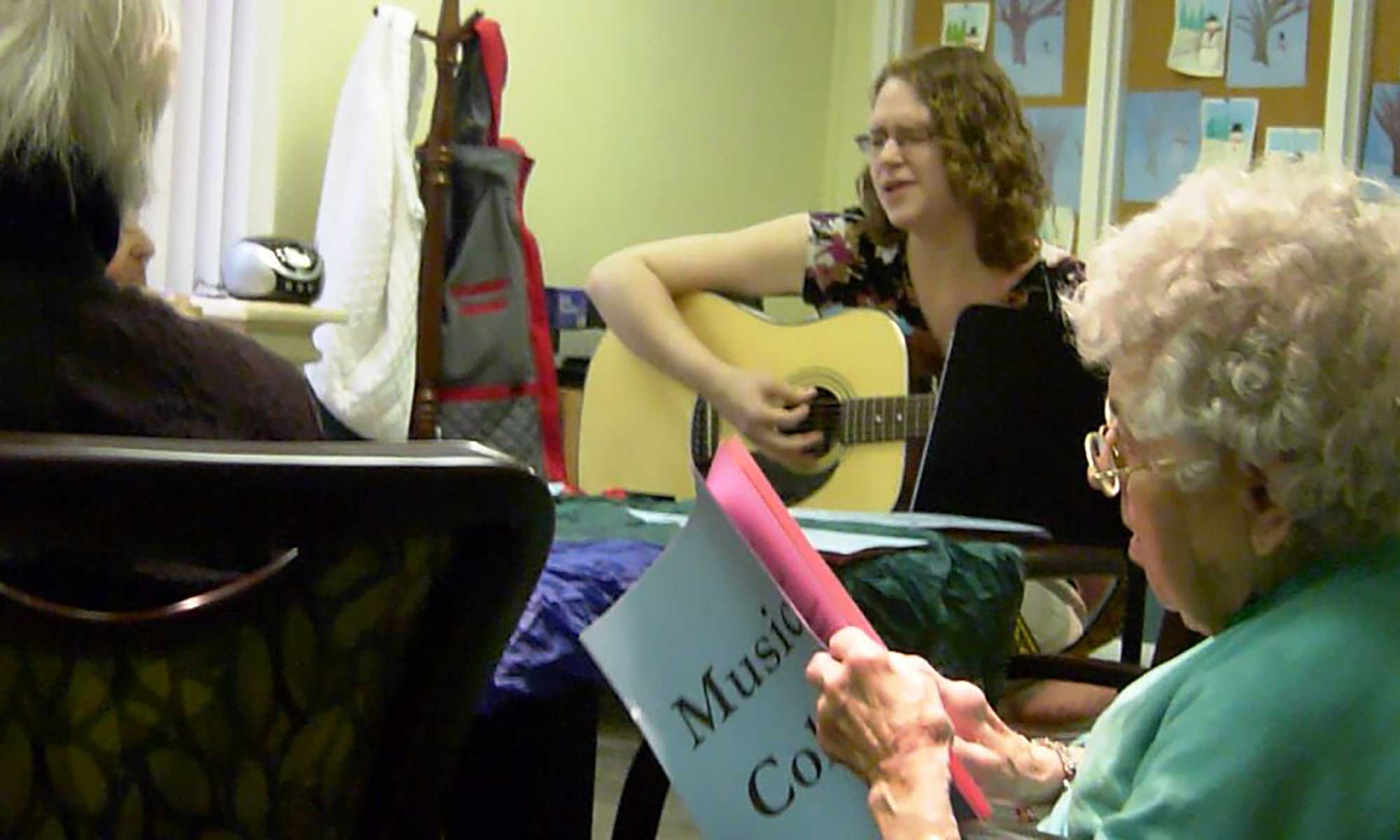 Brooking Park's Music Therapy Program
