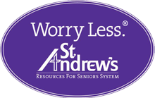 We are sponsored by St. Andrew's Resources for Seniors System.